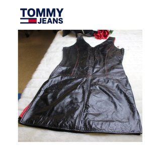 Tommy Jeans Leather Lined Dress